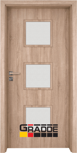 Интериорна врата Gradde Bergedorf - Дъб Вераде