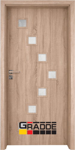 Интериорна врата Gradde Zwinger - Дъб Вераде