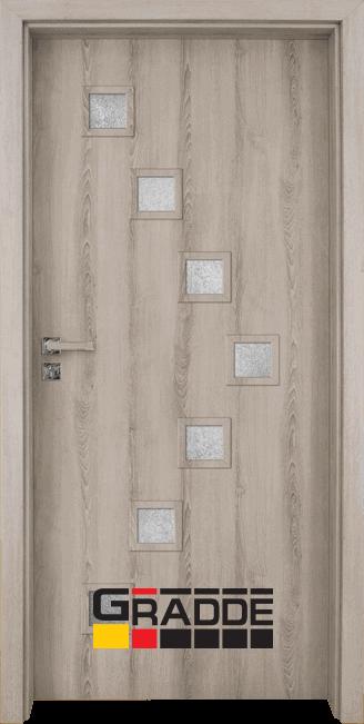 Интериорна врата Gradde Zwinger – Ясен Вералинга