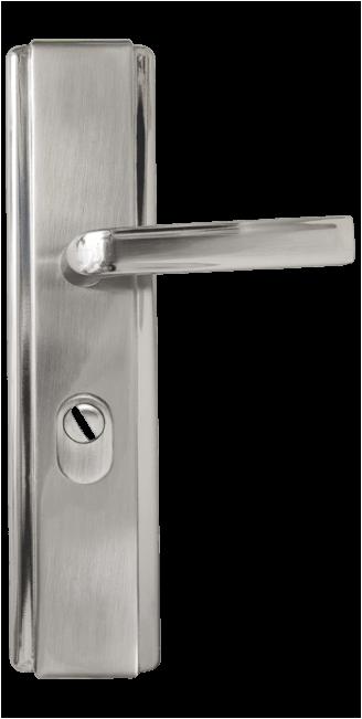 Комплект дръжки за метална врата Комфорт