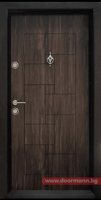 Блиндирана входна врата Т100 – Africa
